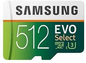 Carte Micro SDXC Samsung EVO Select - 512 Go