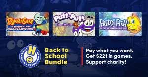 Bundle de jeux Back to school à partir de 1€ sur PC (Dématérialisé)