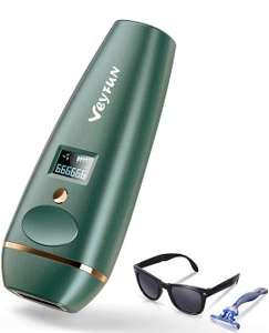 Epilateur ~lectrique à Lumière Pulsée VEYFUN - Avec 5 Niveaux d' Intensité (Via Coupon de 10€ - Vendeur Tiers)