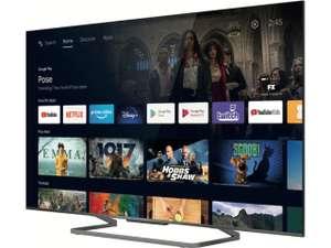"""TV 55"""" TCL 55C727 - UHD - 100 Hz - HDMI 2.1 (Via ODR de 100€)"""