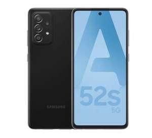 "[Adhérents Macif] Smartphone 6.5"" Samsung Galaxy A52s 5G (FHD+, 6 Go RAM, 128 Go) + coque en silicone offerte + Google Nest Audio"