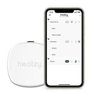 Programmateur connecté et intelligent filaire Heatzy Pilote (Reconditionné - Comme neuf)
