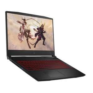 """PC Portable 15.6"""" MSI Katana GF66 11UC-214XFR - FHD 144Hz, i5-11400H, 8Go de RAM, SSD 512 Go, RTX 3050, Sans OS"""