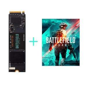 SSD interne M.2. NVME Western Digital SN750 SE - 500 Go + Jeu Battlefield 2042 (Dématérialisé)