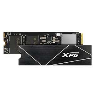 SSD interne M.2 NVMe Adata XPG S70 Blade - 1 To, 3D TLC, DRAM, 740 TBW (Jusqu'à 7400-5500 Mo/s en Lecture-Écriture)
