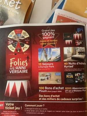 [Possesseurs catalogue But - 100% Gagnant] Bon d'achat de 5€, 20€ ou 100€