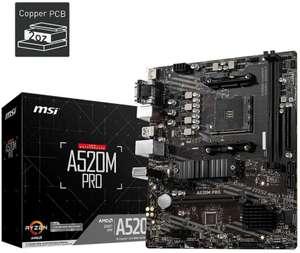 Carte mère MSI A520M Pro - AM4, mATX