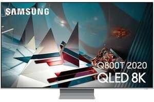 "TV 75"" Samsung QE75Q800T (2020) - 8K, HDR 2000, Smart TV (Frontaliers Suisse)"