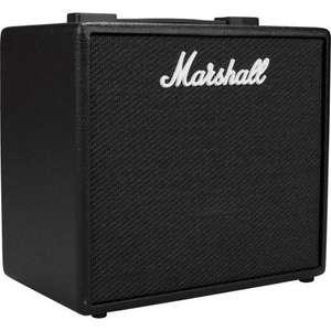 Amplificateur pour guitare électrique Marshall Code 25 - Noir