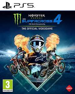 Monster Energy Supercross - The Official Videogame 4 sur PS5 (vendeur tiers)