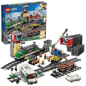 Jeu de construction Lego City Le Train de Marchandises télécommandé (60198)