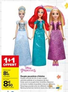 1 poupée Disney poussière d'étoiles achetée = 1 offerte (parmi plusieurs modèles)