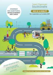 Marquage de vélos Bicycode gratuit - Saint Germain Boucles de Seine (78)