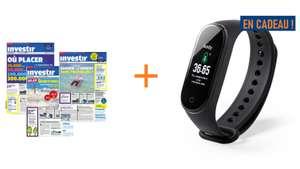 Abonnement 1 an au magasine Investir + bracelet connecté offert (lesechos.fr)