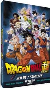 Jeu des 7 familles : Dragon Ball Super