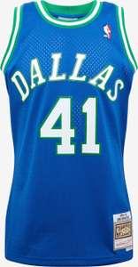 Maillot NBA Mitchell & Ness Dallas Mavericks : Dirk Nowitzki - Tailles S et M