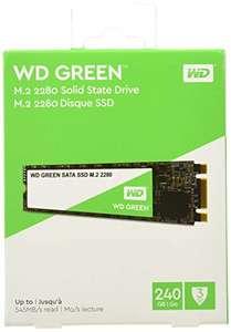 SSD interne M.2 SATA Western Digital Green 3D (WDS240G2G0B) - 240 Go