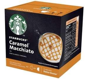 Paquet de 12 Capsules Starbucks Compatibles Nescafe Dolce Gusto Latte Macchiato Caramel (6 utilisations)