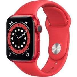 Montre connectée Apple Watch Series 6 (GPS) - 40 mm, Rouge (+9.92€ en Rakuten Points)