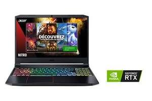 """PC Portable 15.6"""" Acer AN515-55-51QY - Full HD 144 Hz, i5-10300H, RAM 16 Go, SSD 512 Go, RTX 3060 6 Go, Win 10"""