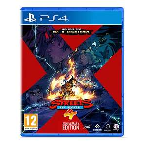 Jeu Streets of Rage 4 - Anniversary Edition sur PS4