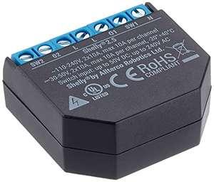 Interrupteur Wi-Fi télécommandé Shelly 4404 (Reconditionné - Comme neuf)