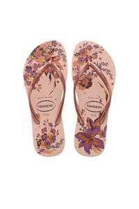Tongs Havaianas - Rose, Tailles 35 à 38