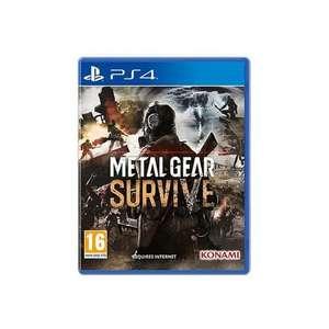Jeu Metal Gear Survive sur PS4 (vendeur tiers)