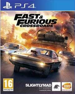 Jeu Fast & Furious Crossroadssur PS4