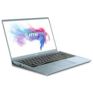 """PC Portable 14"""" MSI-Modern Station 14-B10MW-058FR - Gris, i5-10210U, 8 Go de RAM, 512 Go de SSD, Intel UMA Graphics, Windows 10, écran IPS"""