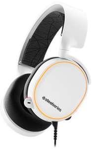 Micro-Casque audio SteelSeries Arctis 5 - Blanc