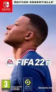 [Pré-commande] Fifa 22 sur Switch (via 10€ sur la carte de fidélité)