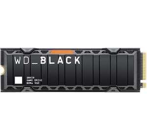 SSD Interne M.2 NVMe WD_BLACK SN850 (TLC 3D, DRAM) - 1To