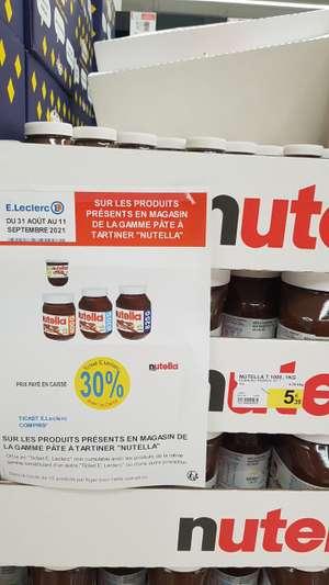 Pot de Nutella 1 kg (via 1,62€ sur la carte fidélité) - Levallois-Perret (92)
