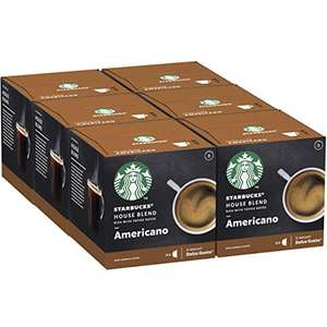 Lot de 72 capsules de café Starbucks House Blend by Nescafe Dolce Gusto - 6 x 12 capsules