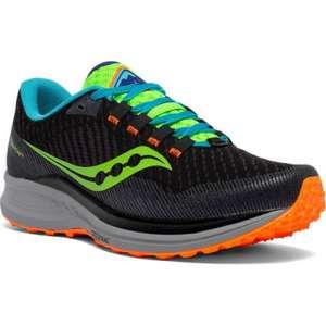 Chaussures de Trail Saucony Canyon TR Black - Tailles au choix (chullanka.com)
