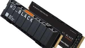 SSD interne M.2 NVMe 4.0 WD_Black SN850 - 1 To, avec dissipateur thermique