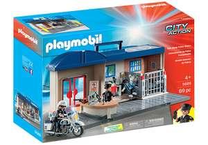 Jeu de construction Playmobil City Action - 5689 Commissariat de Police Transportable