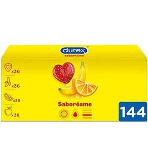 Pack de 144 Préservatifs Durex - Taste Me aux Saveurs Fruitées