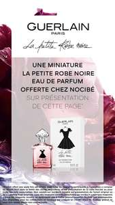 Échantillon Guerlain Paris La Petite Robe Noire offert sur simple visite en magasin (5 ml)