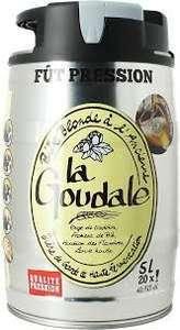 Fut de bière La Goudale - 5L (Dans une sélection d'hypermarchés)