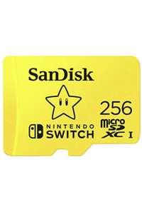 Carte mémoire microSDXC SanDisk Mario - 256 Go