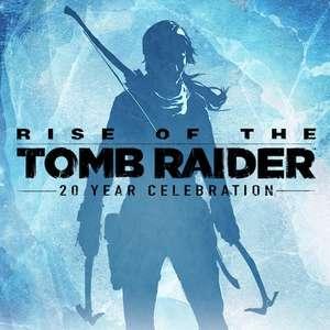 Rise of the Tomb Raider 20e anniversaire sur PS4 (Dématérialisé)
