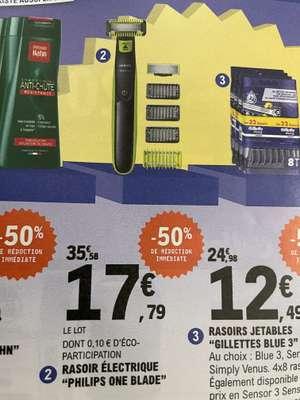 Rasoir électrique Philips OneBlade Visage + Corps