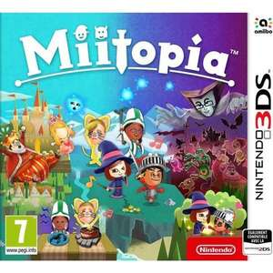 Jeu Miitopia sur Nintendo 3DS