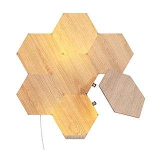 Kit de démarrage Nanoleaf Elements imitation bois - 7 hexagones
