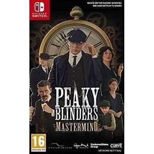 Peaky Blinders Mastermind sur Switch