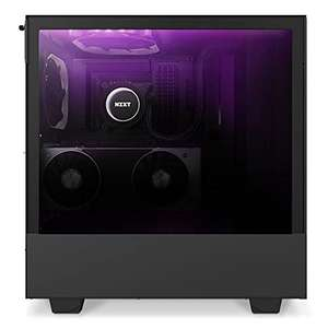Boitier PC NZXT H510 Elite midi-Tower, RGB - Noir avec Fenêtre