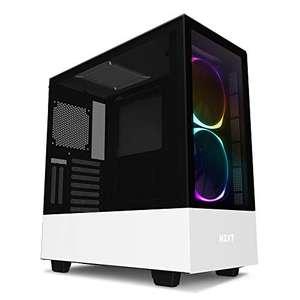 Boitier PC NZXT H510 Elite midi-Tower RGB - blanc, avec fenêtre