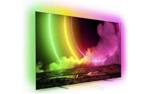 """TV OLED 55"""" Philips 55OLED806/12 - 4K UHD, 120 Hz, HDR10+, Dolby Atmos / DTS, HDMI 2.1, Ambilight 4 côtés, Android TV"""